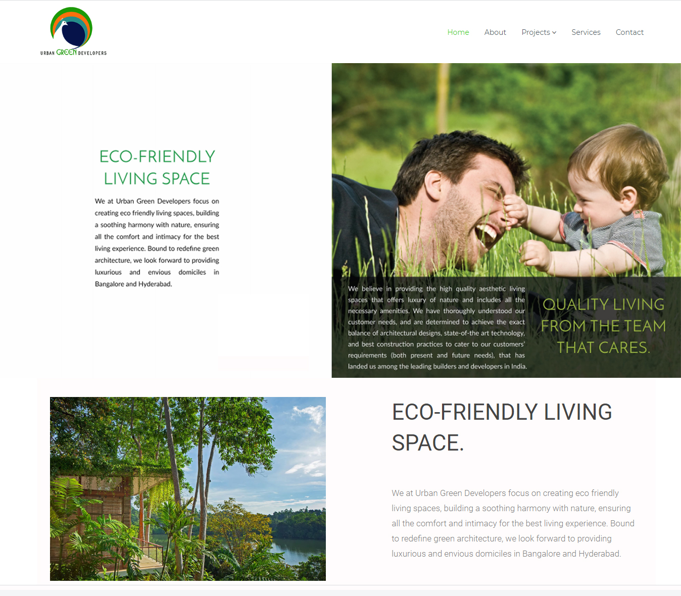 urbangreendevelopers-web-design